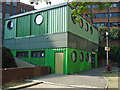 TQ3381 : The &quot;Green Box&quot;: Portsoken Community Centre by Roger Jones