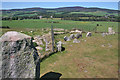 NJ4803 : Tomnaverie Stone Circle by Anne Burgess