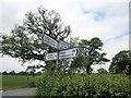 SJ4671 : Signpost on the B5132 by Jeff Buck