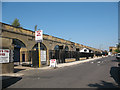 TQ3478 : Raymouth Road arches restored (1) by Stephen Craven