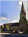 SJ9295 : Christ Church, Denton by David Dixon