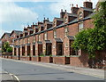 SK4374 : Distinctive terraced houses, Porter Street, Staveley by Andrew Hill