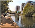 TQ3681 : Regent's Canal near Limehouse by Paul Gillett