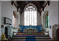 TG0117 : All Saints, Swanton Morley - Chancel by John Salmon