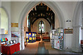 TQ5586 : St Laurence, Upminster - Baptistery by John Salmon
