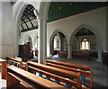 TQ5586 : St Laurence, Upminster - Interior by John Salmon