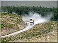 SN8081 : Heavy plant at Cefn Croes : Week 23