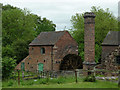 SJ9752 : Cheddleton Flint Mill, Staffordshire by Roger  Kidd