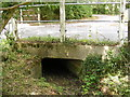 TM2665 : Culvert under the A1120 Several Road at Saxtead by Adrian Cable