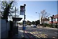 TQ3565 : Bus Stop, Addiscombe Rd by Nigel Chadwick