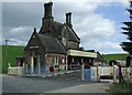 SJ9852 : Cheddleton Station, Staffordshire by Roger  Kidd