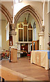 TQ3585 : St Barnabas, Homerton High Street - Organ by John Salmon