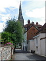 SU1429 : Salisbury Cathedral Spire by Miss Steel
