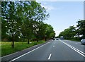 SJ7383 : Chester Road at Bucklow Hill by Anthony Parkes