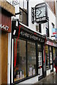 SO8218 : Gloucester: hairdressers'. Westgate Street by Christopher Hilton