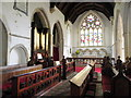 TQ8816 : Interior, All Saints' Church by Miss Steel