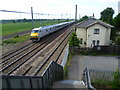 TF1503 : An East Coast 225 from Hurn Road footbridge by Marathon