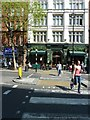 TQ2980 : Zebra crossing in Charing Cross Road by Basher Eyre