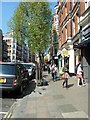 TQ2980 : Spring in Charing Cross Road by Basher Eyre
