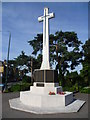 TQ4973 : Bexley War Memorial by Marathon