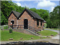 SK0247 : Froghall Wharf Visitor centre, Staffordshire by Roger  Kidd