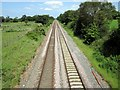 SJ4672 : The Chester to Warrington line by Jeff Buck