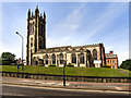 SJ9498 : St Michael's parish Church, Ashton-Under-Lyne by David Dixon