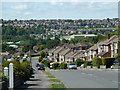 SK3678 : Stonelow Road and view of Dronfield by Andrew Hill