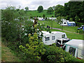 SJ9852 : Caravan park near Cheddleton, Staffordshire by Roger  Kidd