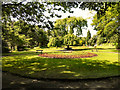 SJ9598 : Stamford Park, Floral Garden by David Dixon