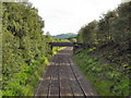SD9700 : Railway at Heyrod, looking towards Stalybridge by David Dixon