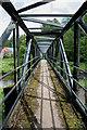 NT9353 : A footbridge over the Whiteadder Water : Week 24