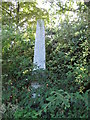 TQ2782 : Obelisk memorial in St. John's Wood Church grounds by Mike Quinn