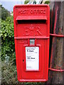 TM2749 : Castle Street Postbox by Adrian Cable