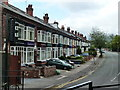 SP0580 : Terrace of houses, Mary Vale Road, Bournville, Birmingham by Ruth Sharville