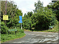 TQ4163 : Junction of Jackass and Blackness Lanes and Church Road by Robin Webster