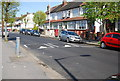 TQ3367 : Speed bumps, Davidson Rd by Nigel Chadwick