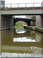 SJ8745 : Canal bridges in Stoke-on-Trent by Roger  Kidd