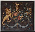 TF0904 : St Andrew, Ufford - Royal Arms by John Salmon