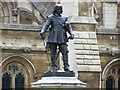 TQ3079 : Oliver Cromwell statue by Rob Emms