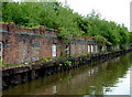 SJ8844 : Disused wharf near Mount Pleasant, Stoke-on-Trent by Roger  Kidd