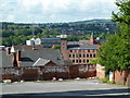 SK3771 : View south from Saltergate Lane, Chesterfield by Andrew Hill