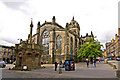 NT2573 : Mercat Cross and St. Giles Cathedral, Edinburgh Royal Mile by Alan Findlay