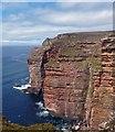 ND2294 : Cliffs on the west coast of Hoy, Orkney by Claire Pegrum