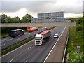 SD9110 : M62 motorway, Rochdale by Steven Haslington