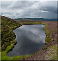 NJ4324 : Lochan on Clayhooter Hill by Trevor Littlewood