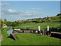 SJ9752 : Cheddleton Top Lock, Staffordshire by Roger  Kidd