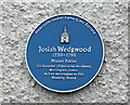SJ8446 : Blue plaque (1) by Jonathan Kington