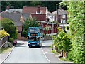 SE4623 : Double decker bus on Mill Lane, Nevison by Christine Johnstone