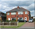 SE5224 : Houses on Weeland Road, Kellingley by JThomas